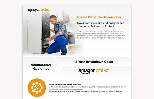Amazon Protect Infographic